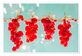 Premium-plakat Red currants full