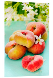 Akrylbillede  Summer peaches - K&L Food Style