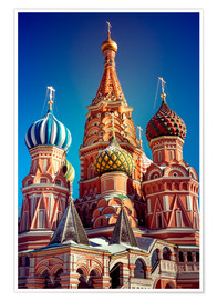 Premium-plakat  St. Basil's Cathedral, Russia