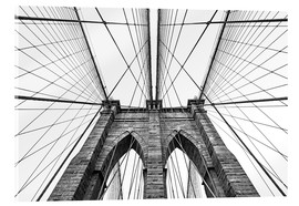 Akrylbillede  Brooklyn bridge