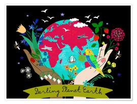 Premium-plakat Darling Planet Earth