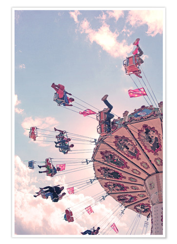 Premium-plakat Swing ride