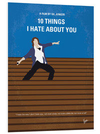 Print på skumplade  10 Things I Hate About You - chungkong