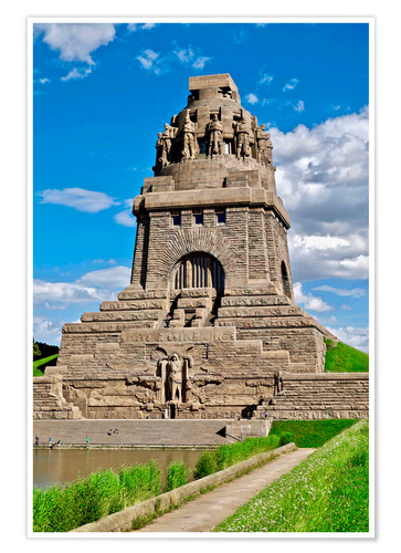 Premium-plakat The Monument to the Battle of the Nations