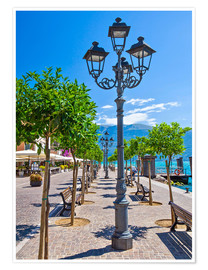 Premium-plakat Village of Gargnano, Lake Garda Italy