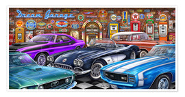 Premium-plakat Dream Garage II