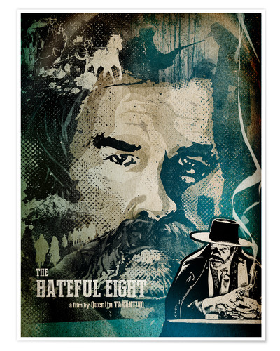 Premium-plakat Hateful Eight