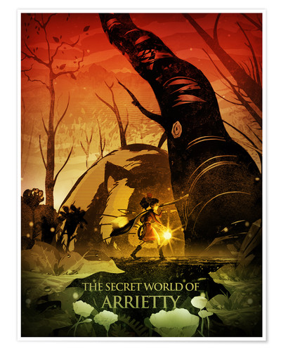 Premium-plakat The Secret World of Arrietty