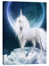 Lærredsbillede  Unicorn - Magicmoon - Dolphins DreamDesign