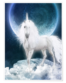 Premium-plakat Unicorn - Magicmoon