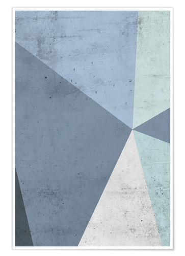 Premium-plakat Winter geometry