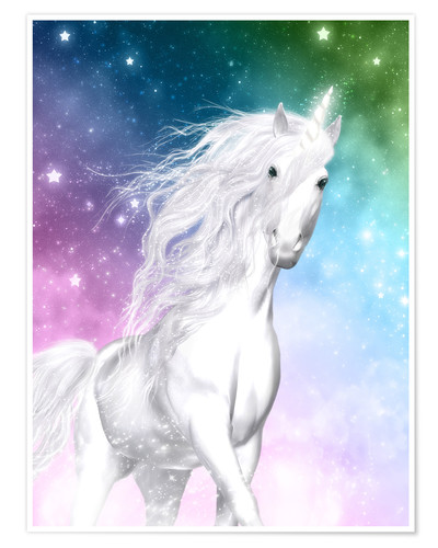 Premium-plakat Unicorn - Surprise