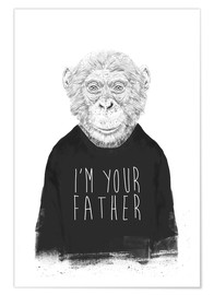 Premium-plakat I'm your father