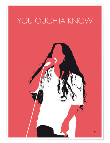 Premium-plakat Alanis Morissette - You Oughta Know
