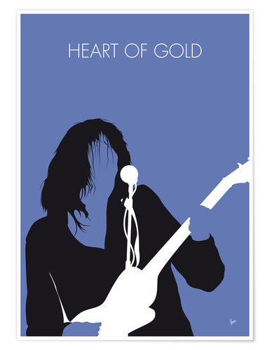 Premium-plakat Neil Young - Heart Of Gold