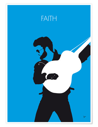 Premium-plakat Faith - George Michael