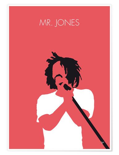 Premium-plakat Mr. Jones - Counting Crows