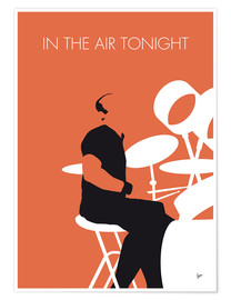 Premium-plakat In the air tonight - Phil Collins