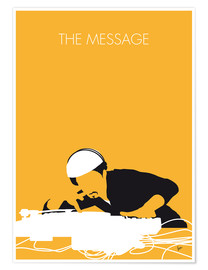 Premium-plakat The Message - Grandmaster Flash