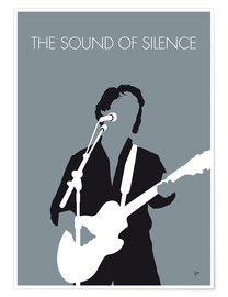 Premium-plakat The Sound Of Silence - Paul Simon