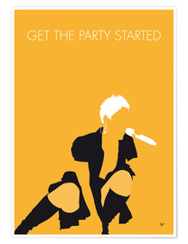 Premium-plakat Get the Party Started - Pink
