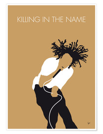Premium-plakat Killing In The Name - Rage Against the Machine