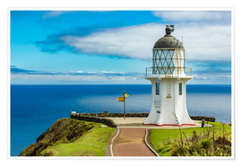 Premium-plakat Cape Reinga New Zealand