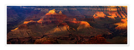 Premium-plakat Grand Canyon insight