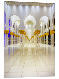 Akrylbillede  Sheikh Zayed Grand Mosque