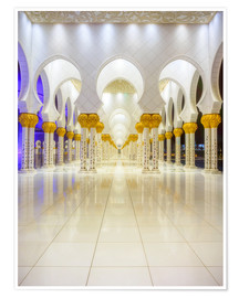 Premium-plakat Sheikh Zayed Grand Mosque
