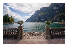 Premium-plakat Lake Garda in the summer