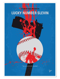 Premium-plakat Lucky Number Slevin