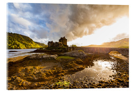 Akrylbillede  Eilean Donan Castle in the Highlands, Scotland - Dieterich Fotografie