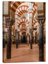 Lærredsbillede  The Mosque of Cordoba