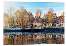 Akrylbillede  Amsterdam morning reflections - George Pachantouris