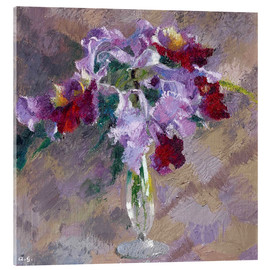 Akrylbillede  orchid - Augusto Giacometti
