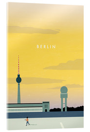 Akrylbillede  Illustration Berlin - Katinka Reinke