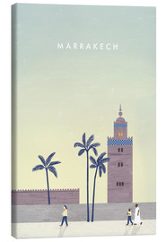 Lærredsbillede  Illustration Marrakech - Katinka Reinke