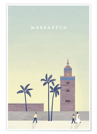 Premium-plakat  Illustration Marrakech - Katinka Reinke