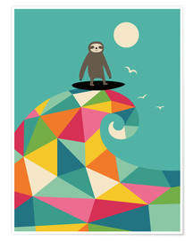 Premium-plakat  Surf Up - Andy Westface