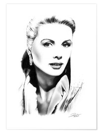 Premium-plakat Hollywood diva - Grace Kelly