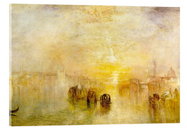 Akrylbillede  Going to the Ball (San Martino) - Joseph Mallord William Turner