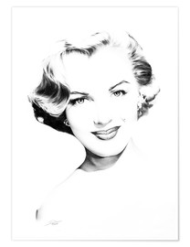 Premium-plakat Hollywood Diva - Marilyn Monroe