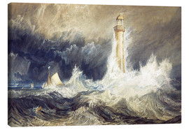 Lærredsbillede  Bell Rock Lighthouse - Joseph Mallord William Turner