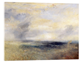 Akrylbillede  Margate from the Sea - Joseph Mallord William Turner