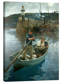 Lærredsbillede  The Lighthouse - Stanhope Alexander Forbes