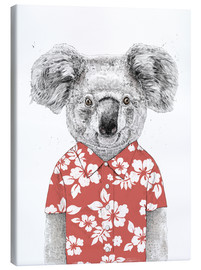 Lærredsbillede  Koala bear with Hawaiian shirt - Balazs Solti