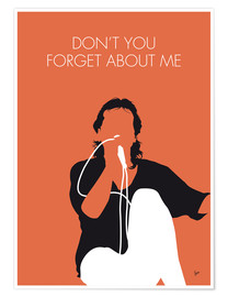 Premium-plakat Don't You Forget About Me - Simple Minds