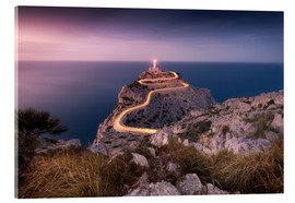 Akrylbillede  Evening light at Cap Formentor (Mallorca / Spain) - Kristian Goretzki