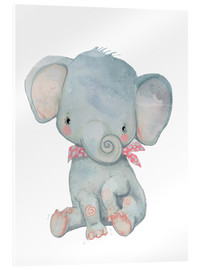 Akrylbillede  Min lille elefant - Kidz Collection